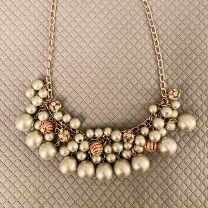 Loft Pearl Statement Necklace